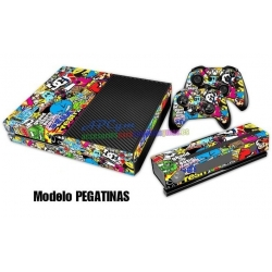 Vinilo Xbox One Modelo Pegatinas