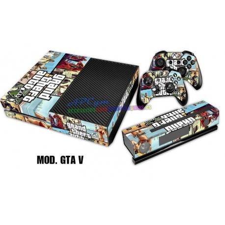 Vinilo Xbox One Modelo GTA V