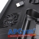 Ventilador PS4 Playstation 4 Tipo 3 en 1 (Carga 2 Mandos)