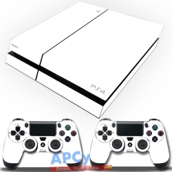 Vinilo Playstation 4 Blanca Lisa