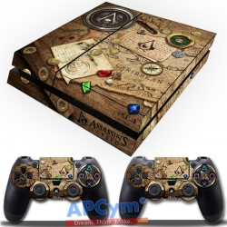 Vinilo Playstation 4 Assassins Creed Mapa