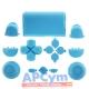 Pack Completo Botones Mando Ps4 Azul Claro