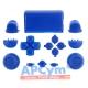 Pack Completo Botones Mando Ps4 Azul Oscuro