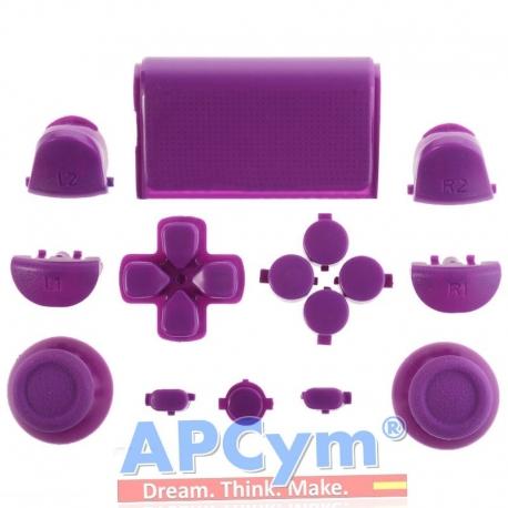 Pack Completo Botones Mando Ps4 Violeta