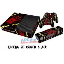 Vinilo Xbox One Modelo Escena de Crimen Negro
