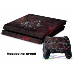 Vinilo Playstation 4 Assassins Creed III Red