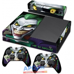 Vinilo Xbox One Joker Green Jared