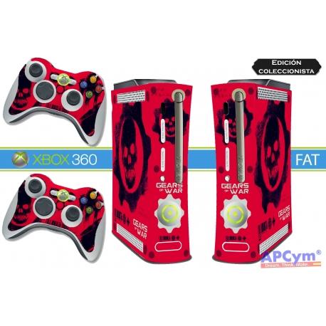 Vinilo Xbox 360 Fat Gears Of War Edicion Coleccionista