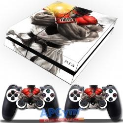 Vinilo Playstation 4 Street Fighter Ryu