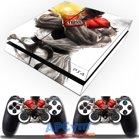 Vinilo Playstation 4 Street Fighter Ryu