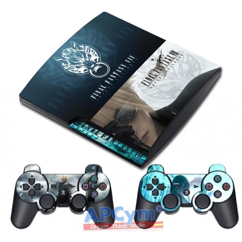 Vinilo Playstation 3 Slim Final Fantasy VII Advent Children 20438ee7c58