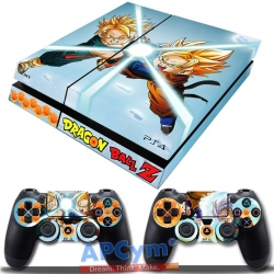 Vinilo Playstation 4 Dragon Ball Trunks y Son Goten