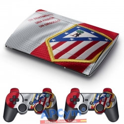 Vinilo Playstation 3 Super Slim Atleti de Madrd