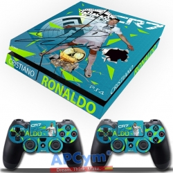 Vinilo Playstation 4 Cristiano Ronaldo CR 7