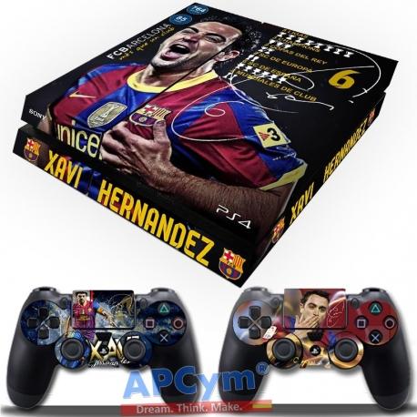 Vinilo Playstation 4 Xavi Hernandez
