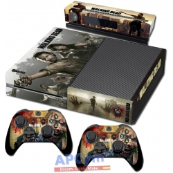 Vinilo Xbox One Walking Dead Zombies