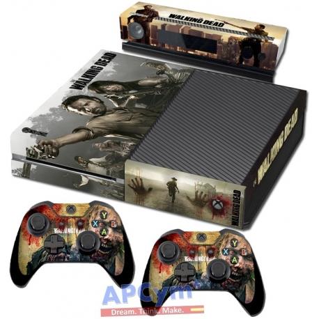 Vinilo Xbox One Walking Dead Zombies