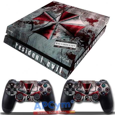 Vinilo Playstation 4 Umbrella Racoon City Resident Evil