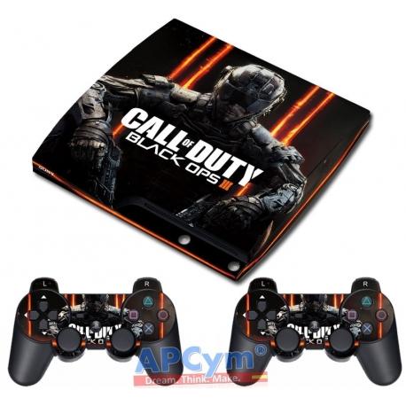 Vinilo Playstation 3 Slim Modelo Call Of Duty Black Ops III
