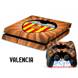 Vinilo Playstation 4 Valencia Orange