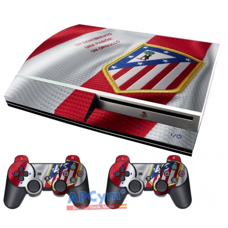 Vinilo Playstation 3 Fat Atletico de Madrid