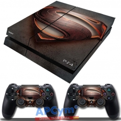 Vinilo Playstation 4 Superman Steel Man