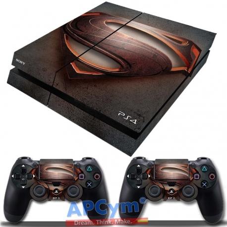 Vinilo Playstation 4 Superman Steel Man