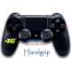 Handgrip Vinilo Playstation 4 Motos 46