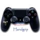 Handgrip Vinilo Playstation 4 Destiny Oro