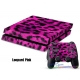 Vinilo Playstation 4 Rosa Leopardo