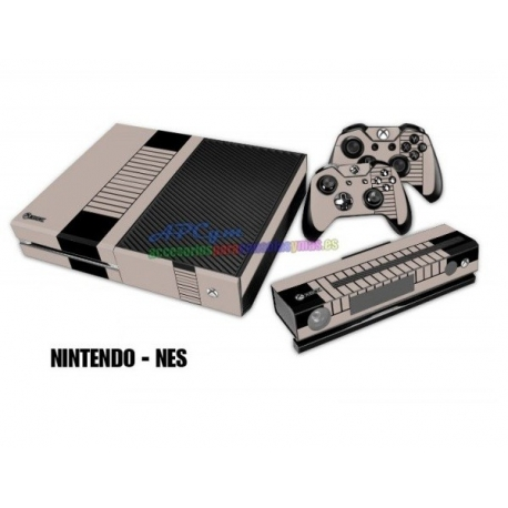 Vinilo Xbox One Modelo Nintendo NES