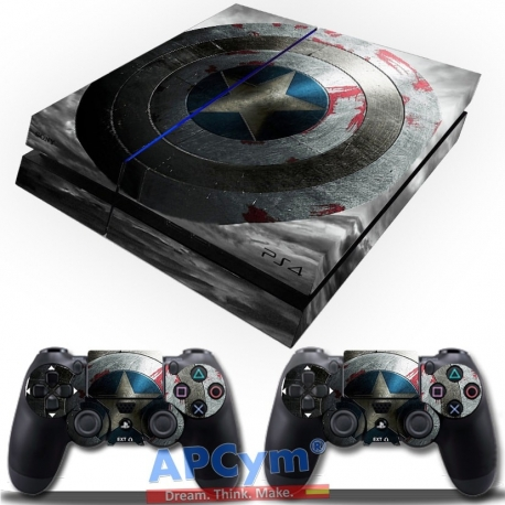 Vinilo Playstation 4 Capitan America