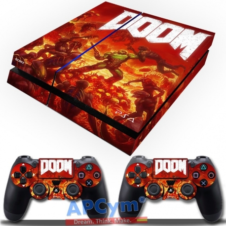 Vinilo Playstation 4 Doom 2016