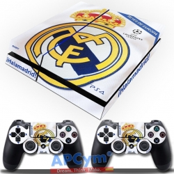 Vinilo Playstation 4 Hala Madrid y Nada Mas