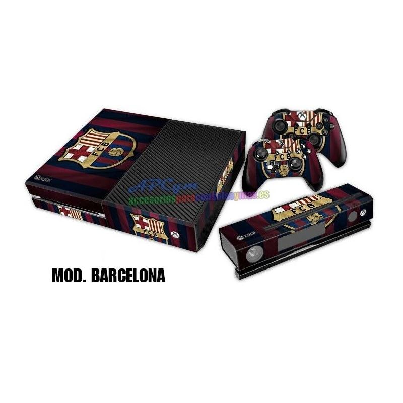 Vinilo Xbox One Barcelona Blaugrana - APCym - Tienda de Vinilos para ... 4dbfd9df123