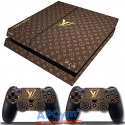 Vinilo Playstation 4 Louis Vuitton