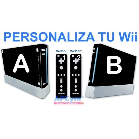 Personaliza tu Consola Wii Completa con Vinilo