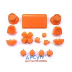 Pack Completo Botones Mando Ps4 Naranja
