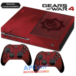 Vinilo Xbox One Gears of Wars 4 Ed. Coleccionista