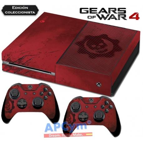Vinilo Xbox One Gears of Wars 4 Ed. Coleccionista