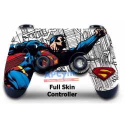 Vinilo Skin para Mando PS4 Completo Superman