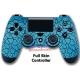 Vinilo Skin para Mando PS4 Completo Grietas Azules