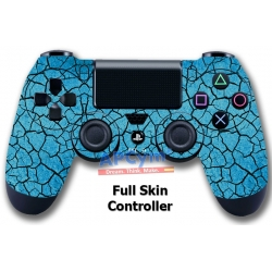 Vinilo Skin para Mando PS4 Completo Grietas