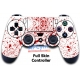 Vinilo Skin para Mando PS4 Completo escena crimen blanco sangre