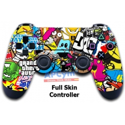 Vinilo Skin para Mando PS4 Completo Pegatinas