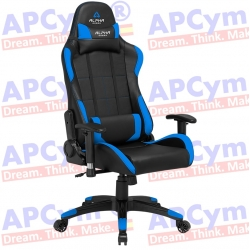 Silla Gaming Alpha Gamer Vega Azul-Negra