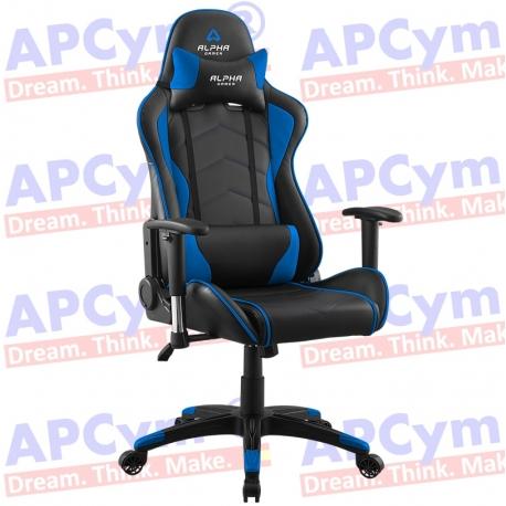 Silla Gaming Alpha Gamer Hydra Azul-Negra