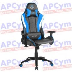 Silla Gaming Alpha Gamer Delta Azul-Negra-Blanca