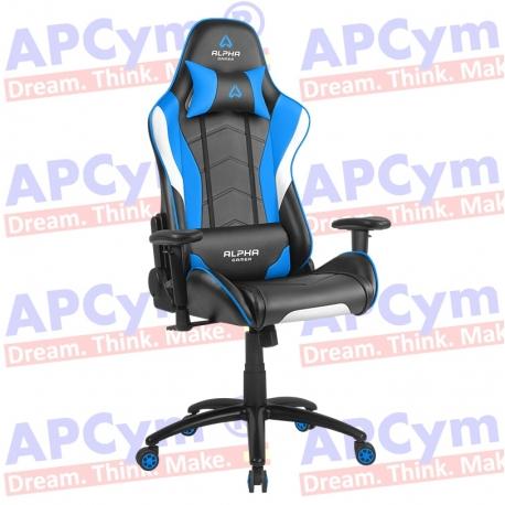 Silla Gaming Alpha Gamer Delta Azul-Negra