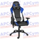 Silla Gaming Alpha Gamer Orion V2 Azul-Negra